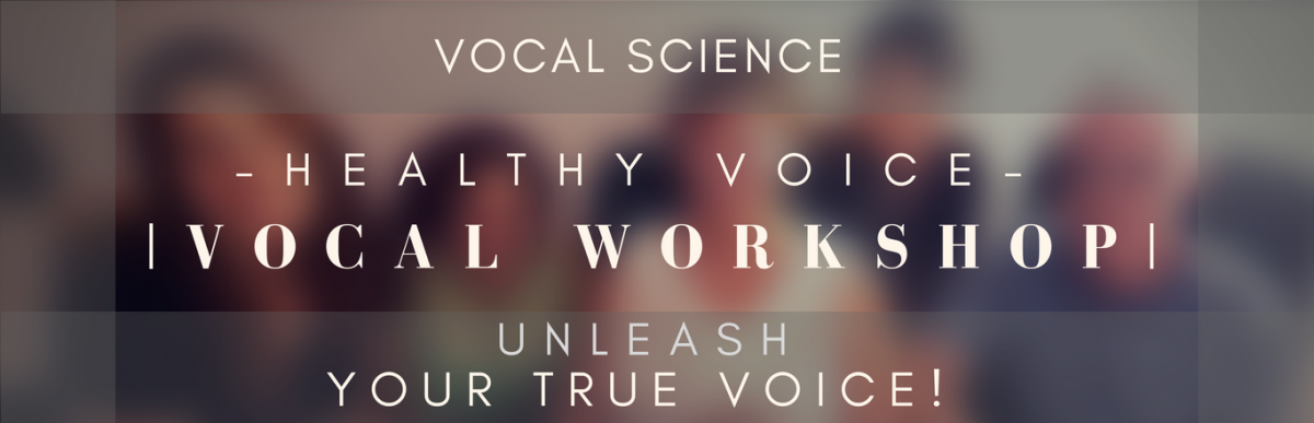 Vocal Science Workshop Banner