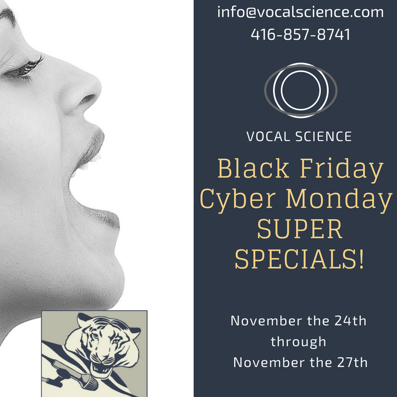 Black Friday & Cyber Monday Specials!