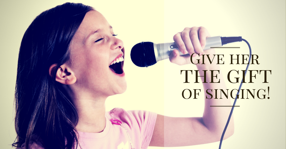 Give your child a gift of a desired voice, confidence and self-esteem!