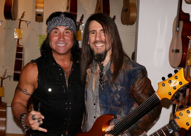 Davey Dee and Bumblefoot