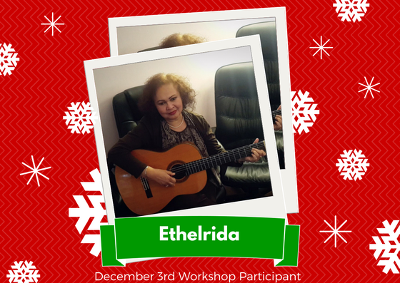 December 3rd Workshop - Ethelrida