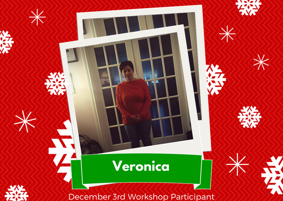 December 3rd Workshop Participant - Veronica