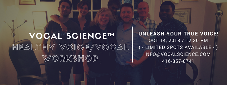 October 14th Vocal Workshop