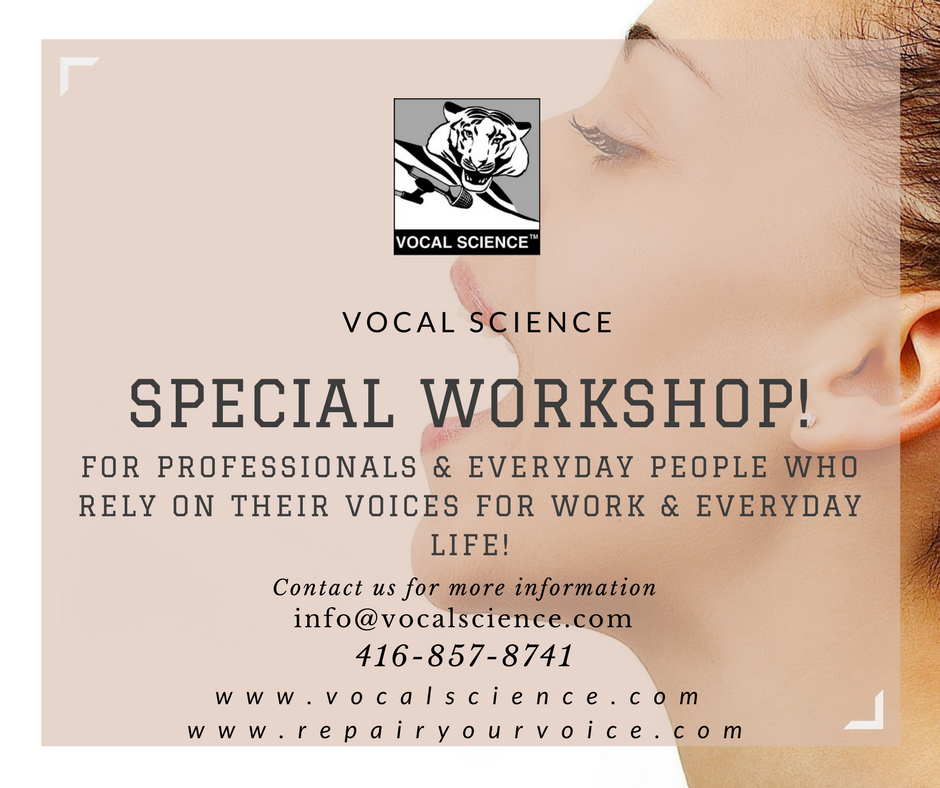 For professionals & everyday people who rely on their voices for work & everyday life!