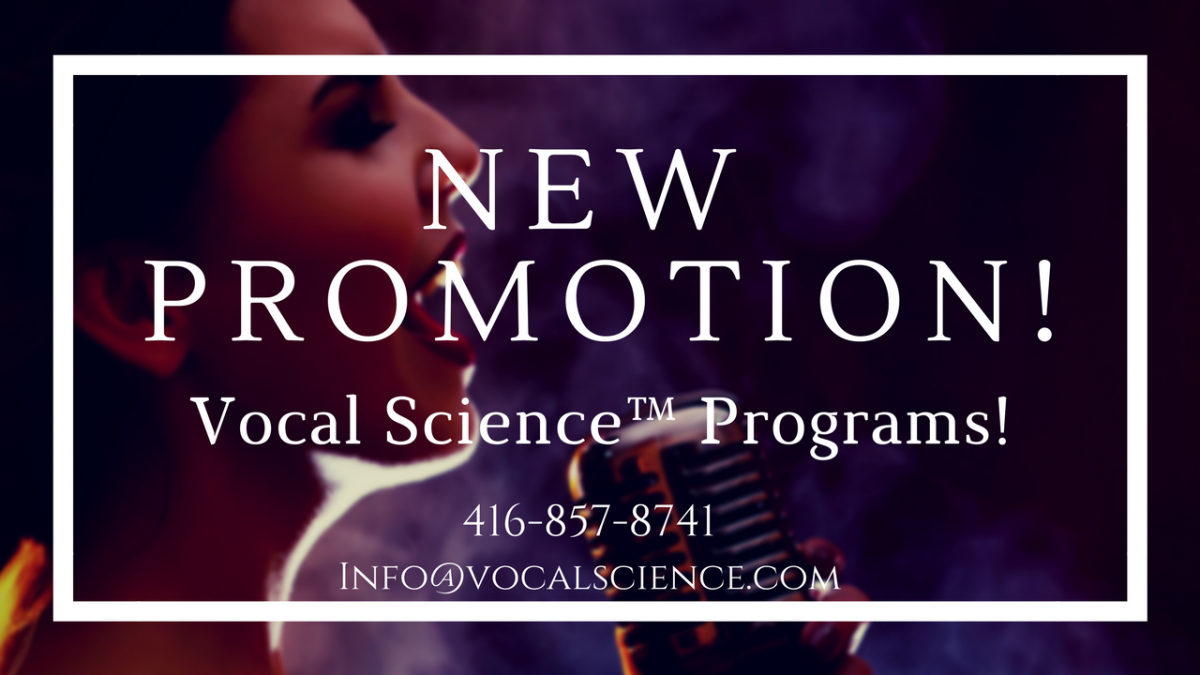 Vocal Science Ad - New Promotion