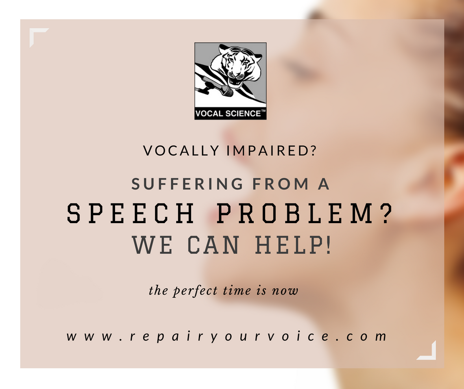 Vocal Science - Speech Disorder Correction