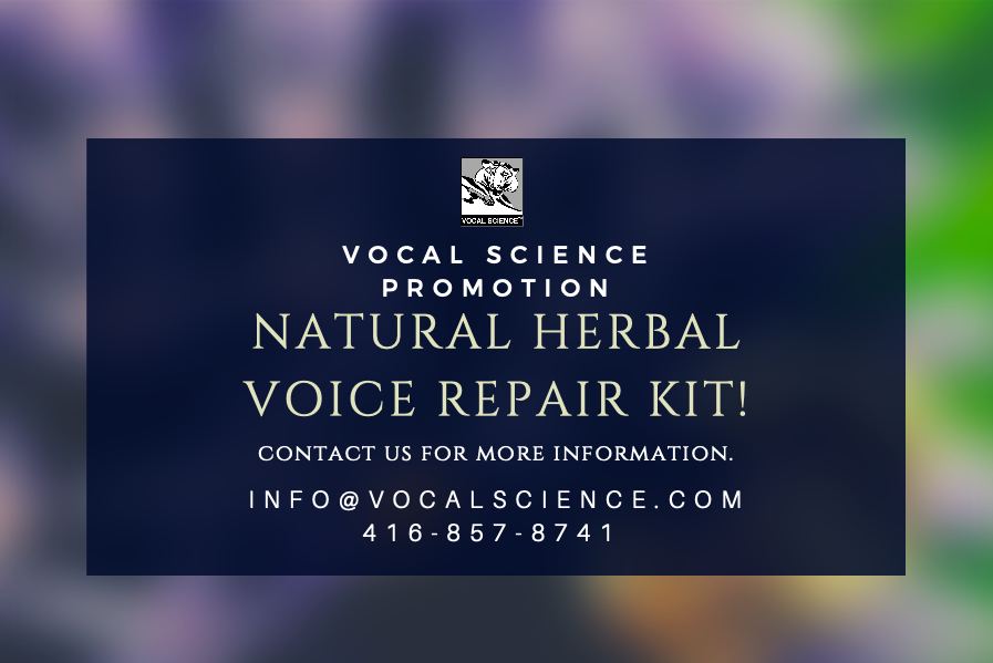 Voice Repair Herbal Kit