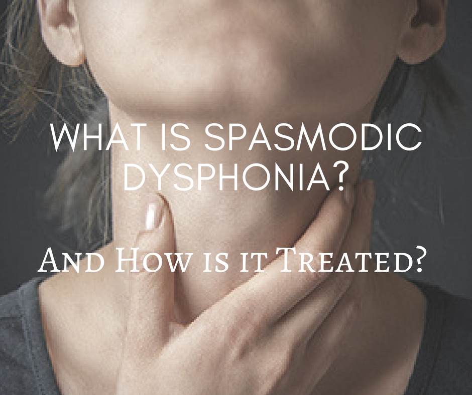 What Is Spasmodic Dysphonia